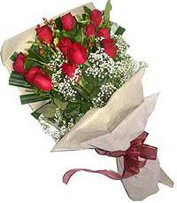 11 adet kirmizi güllerden özel buket  Kayseri çiçek cicekciler , cicek siparisi