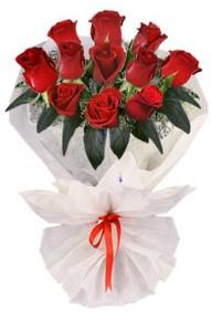 11 adet gül buketi  Kayseri çiçek cicekciler , cicek siparisi  kirmizi gül