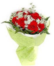Kayseri çiçek çiçek siparişi sitesi  7 adet kirmizi gül buketi tanzimi