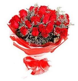 Kayseri çiçek online çiçekçi , çiçek siparişi  12 adet kırmızı güllerden görsel buket