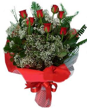 7 kırmızı gül buketi  Kayseri çiçek yurtiçi ve yurtdışı çiçek siparişi