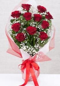 11 kırmızı gülden buket çiçeği  Kayseri çiçek çiçek servisi , çiçekçi adresleri