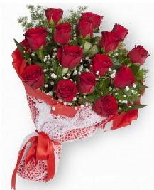 11 kırmızı gülden buket  Kayseri kocasinan çiçek İnternetten çiçek siparişi