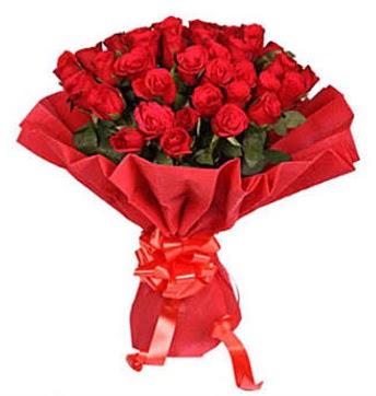 41 adet gülden görsel buket  Kayseri çiçek çiçekçi mağazası
