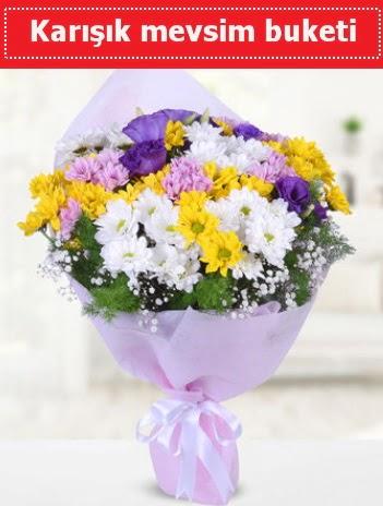 Karışık Kır Çiçeği Buketi  Kayseri kocasinan çiçek İnternetten çiçek siparişi