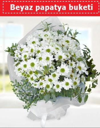 Beyaz Papatya Buketi  Kayseri çiçek çiçek servisi , çiçekçi adresleri