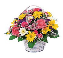 Kayseri çiçek çiçek siparişi sitesi  mevsim çiçekleri sepeti özel