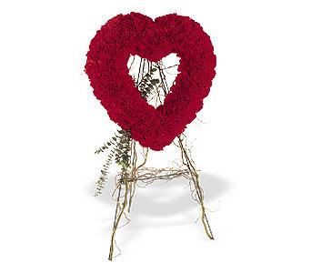 Kayseri çiçek online çiçek gönderme sipariş  karanfillerden kalp pano