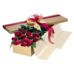 Kayseri çiçek hediye sevgilime hediye çiçek  10 adet kutu özel kutu