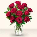 Kayseri özvatan çiçek çiçek , çiçekçi , çiçekçilik  10 adet gül cam yada mika vazo da