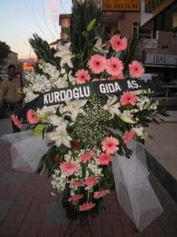 kazablanka,gerbera,sebboy ferforje  Kayseri çiçek internetten çiçek siparişi