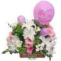 balon ve çiçeklerle tanzim  Kayseri çiçek online çiçek gönderme sipariş