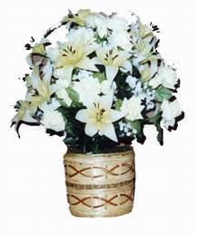yapay karisik çiçek sepeti   Kayseri çiçek online çiçekçi , çiçek siparişi