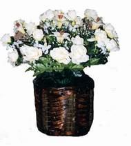 yapay karisik çiçek sepeti   Kayseri çiçek anneler günü çiçek yolla