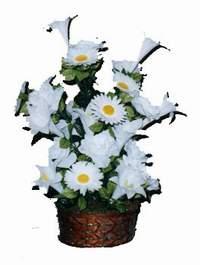 yapay karisik çiçek sepeti  Kayseri çiçek uluslararası çiçek gönderme