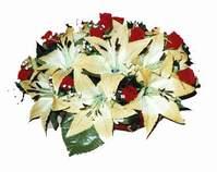yapay karisik çiçek sepeti   Kayseri çiçek cicekciler , cicek siparisi