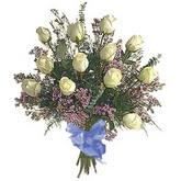 bir düzine beyaz gül buketi   Kayseri çiçek çiçek satışı