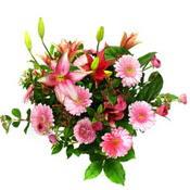 lilyum ve gerbera çiçekleri - çiçek seçimi -  Kayseri çiçek ucuz çiçek gönder