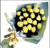 sari güllerden sade buket  Kayseri çiçek çiçek siparişi sitesi