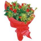 10 adet kirmizi gül buketi  Kayseri özvatan çiçek çiçek , çiçekçi , çiçekçilik