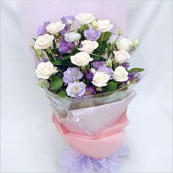 Kayseri çiçek online çiçek gönderme sipariş  BEYAZ GÜLLER VE KIR ÇIÇEKLERIS BUKETI