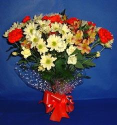 Kayseri çiçek çiçekçiler  kir çiçekleri buketi mevsim demeti halinde