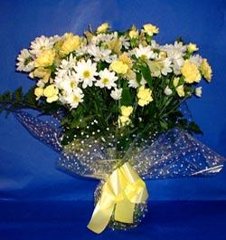 Kayseri çiçek çiçekçiler  sade mevsim demeti buketi sade ve özel