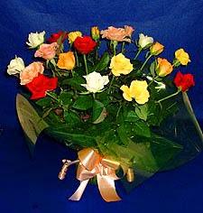 Kayseri çiçek çiçekçiler  13 adet karisik renkli güller