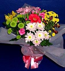 Kayseri çiçek çiçekçiler  küçük karisik mevsim demeti