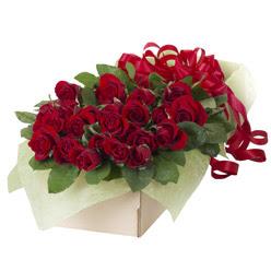 19 adet kirmizi gül buketi  Kayseri kocasinan çiçek İnternetten çiçek siparişi