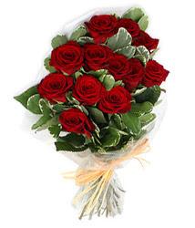 Kayseri çiçek çiçek gönderme  9 lu kirmizi gül buketi.