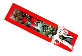 Kayseri çiçek çiçekçiler  Kutuda 3 adet gül