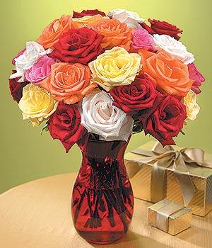 Kayseri çiçek çiçek mağazası , çiçekçi adresleri  13 adet renkli gül