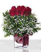 Kayseri çiçek çiçek siparişi sitesi  11 adet gül mika yada cam - anneler günü seçimi -