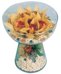 Kayseri çiçek çiçek siparişi vermek  Cam içerisinde 4 adet kandil orkide