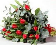 Kayseri çiçek çiçekçi mağazası  11 adet kirmizi gül buketi özel günler için