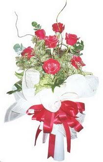Kayseri çiçek çiçek siparişi vermek  7 adet kirmizi gül buketi