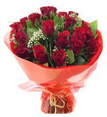 Kayseri çiçek çiçek mağazası , çiçekçi adresleri  11 adet kimizi gülün ihtisami buket modeli