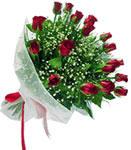 Kayseri çiçek online çiçek gönderme sipariş  11 adet kirmizi gül buketi sade ve hos sevenler