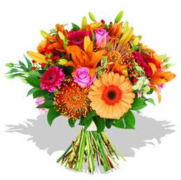 Kayseri çiçek hediye çiçek yolla  Karisik kir çiçeklerinden görsel demet