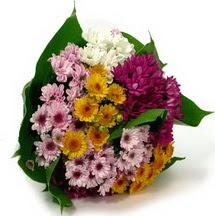 Kayseri çiçek hediye çiçek yolla  Karisik kir çiçekleri demeti herkeze