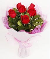 9 adet kaliteli görsel kirmizi gül  Kayseri çiçek ucuz çiçek gönder
