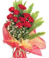 11 adet kaliteli görsel kirmizi gül  Kayseri çiçek çiçekçi mağazası