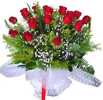 11 adet gösterisli kirmizi gül buketi  Kayseri çiçek online çiçek gönderme sipariş