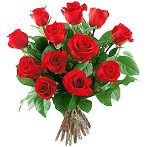 11 adet bakara kirmizi gül buketi  Kayseri kocasinan çiçek İnternetten çiçek siparişi