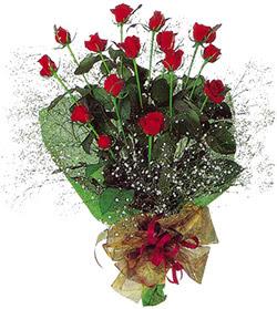 11 adet kirmizi gül buketi özel hediyelik  Kayseri çiçek internetten çiçek siparişi