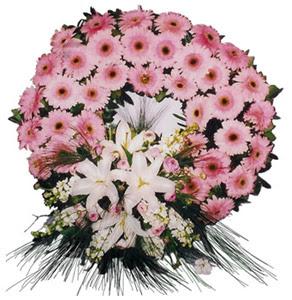 Cenaze çelengi cenaze çiçekleri  Kayseri çiçek uluslararası çiçek gönderme