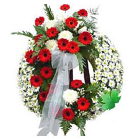 Cenaze çelengi cenaze çiçek modeli  Kayseri çiçek çiçek online çiçek siparişi