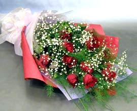 10 adet kirmizi gül çiçegi gönder  Kayseri çiçek çiçek mağazası , çiçekçi adresleri