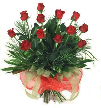 Çiçek yolla 12 adet kirmizi gül buketi  Kayseri kocasinan çiçek İnternetten çiçek siparişi